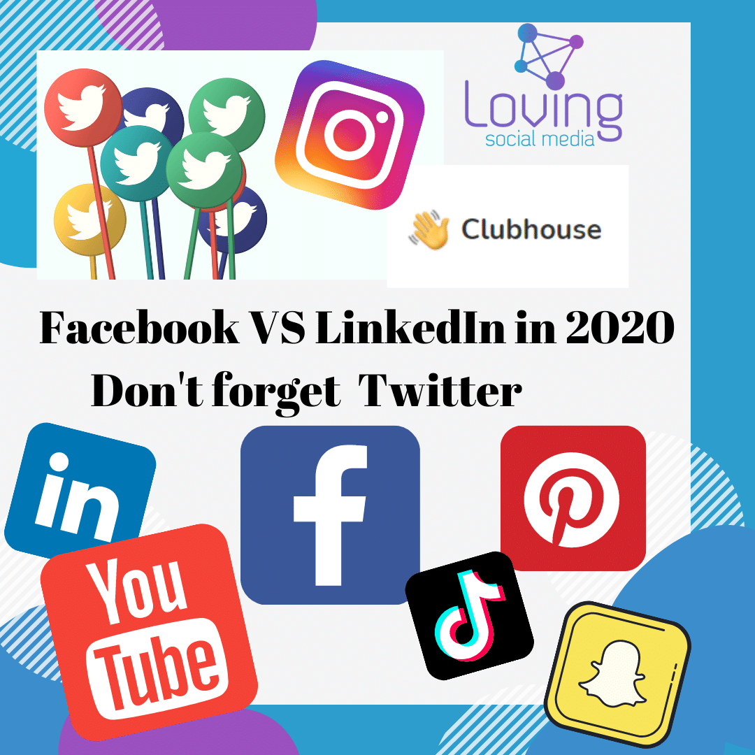 Facebook vs LinkedIn in 2020 Don't forget Twitter