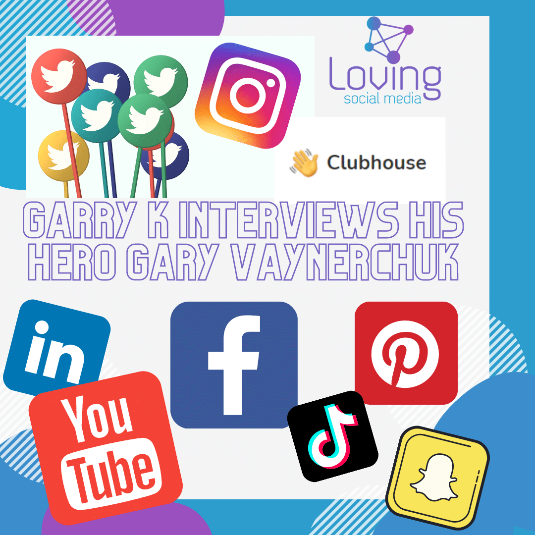 Garry K interviews his hero Gary Vaynerchuk
