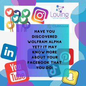 Have you discovered Wolfram Alpha yet? It may know more about your Facebook that you do!