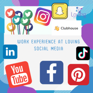 Work Experience at Loving Social Media - Social Media Managers in Enfield