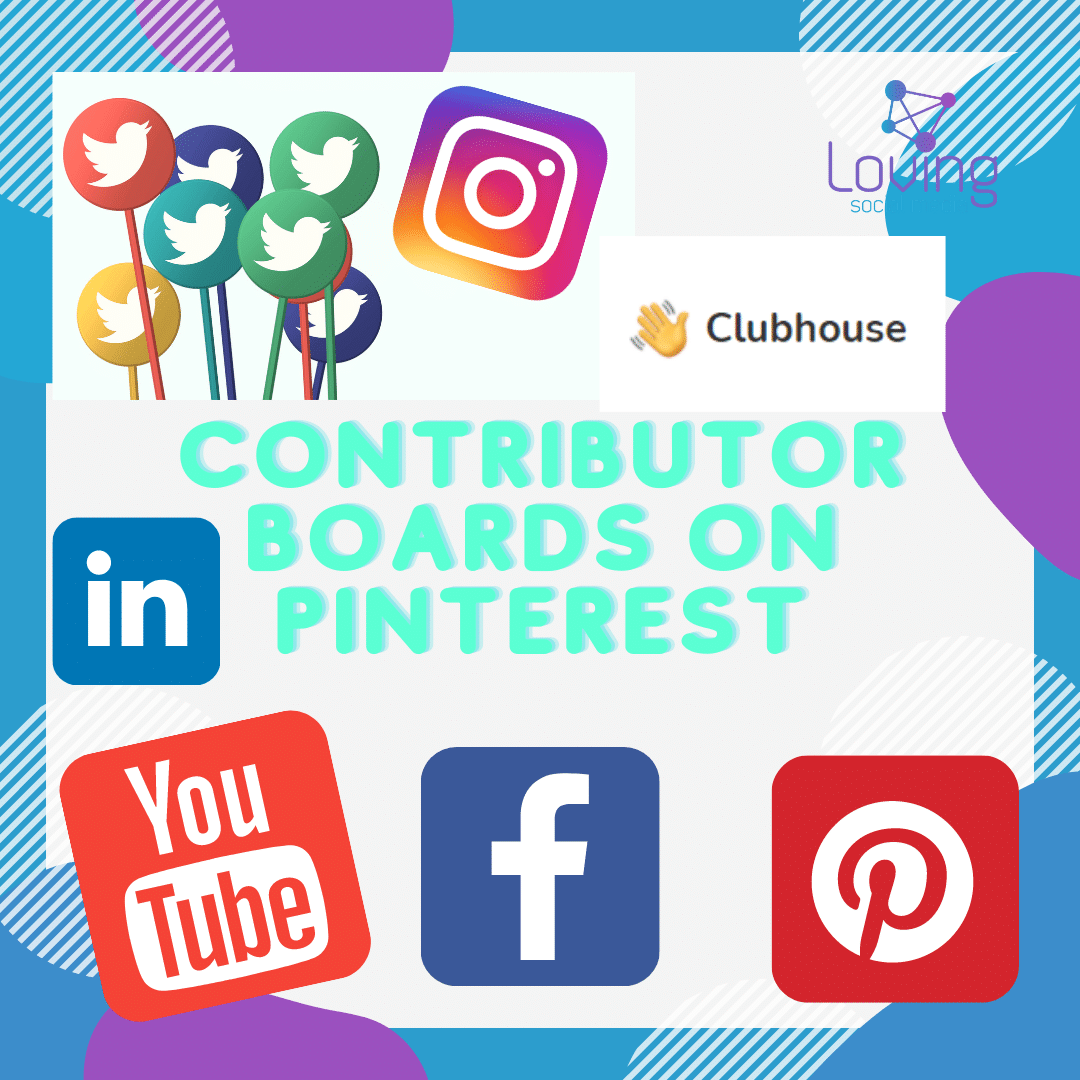 Contributor Boards on Pinterest